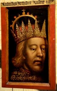 Porträt Rudolfs IV., um 1365