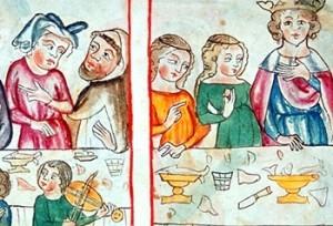 cod. s. n. 2612 ; fol. 45r Speculum Humanae Salvationis