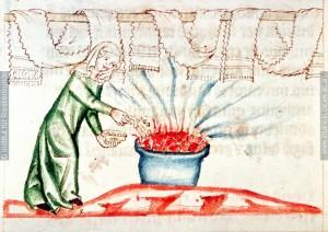 Wäsche bleichen, Kruseler, concordantiae caritatis, cod 151 fol 224v