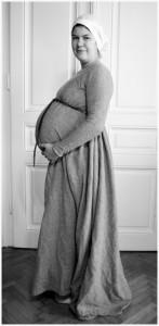 Schwangerschafts und Stillkleid